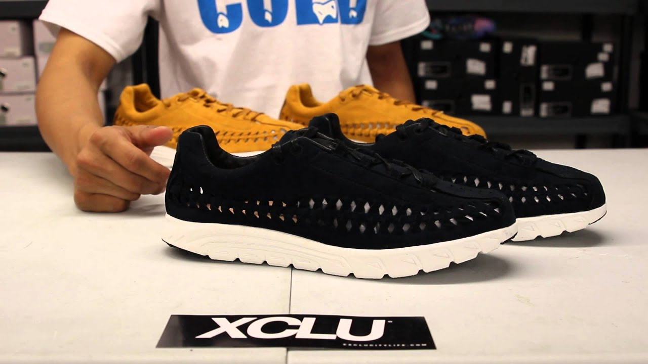 Nike Mayfly Woven QS - Black - White Unboxing Video at Exclucity - YouTube