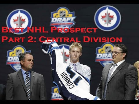 Best NHL Prospects Part 2: Western Conference - Central Division