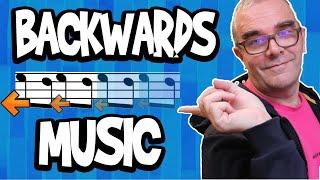 Backwards Music. WTF?