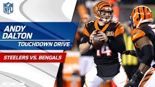 Andy Dalton Puts Together Big TD Drive to Extend the Lead! | Steelers vs. Bengals | NFL Wk 13