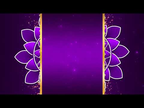 Free Wedding Invitation Title Animated Background Video Effects