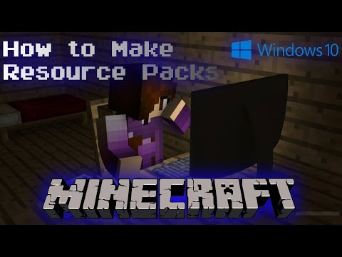 Minecraft Java Edition  How To Make Your Own Resource Pack Windows 10