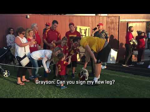 USC Football - Sam Darnold and Grayson O'Steen
