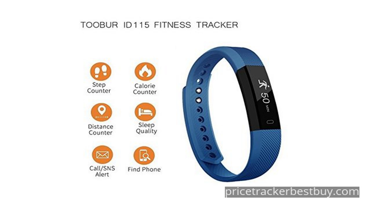 Slim Fitness Tracker Watch Toobur Health Activity Tracker Youtube