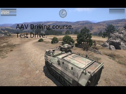 Gator 102 AAV Driving test course.