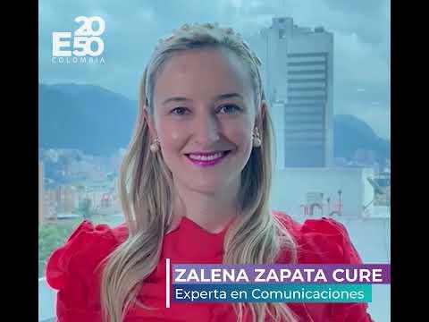 """-E2050 COLOMBIA- """"Unidos por la Resiliencia Climática"""" Zalena Zapata Cure"""