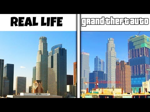 Top 10 Video Game Locations Based Off Real Life