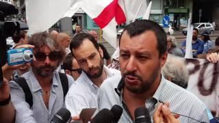 """Salvini: """"Su Erdogan Renzi e Boldrini hanno perso le parole"""""""