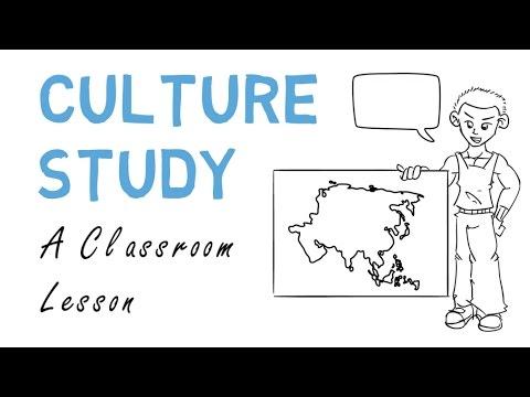 Culture Study: Classroom Lesson