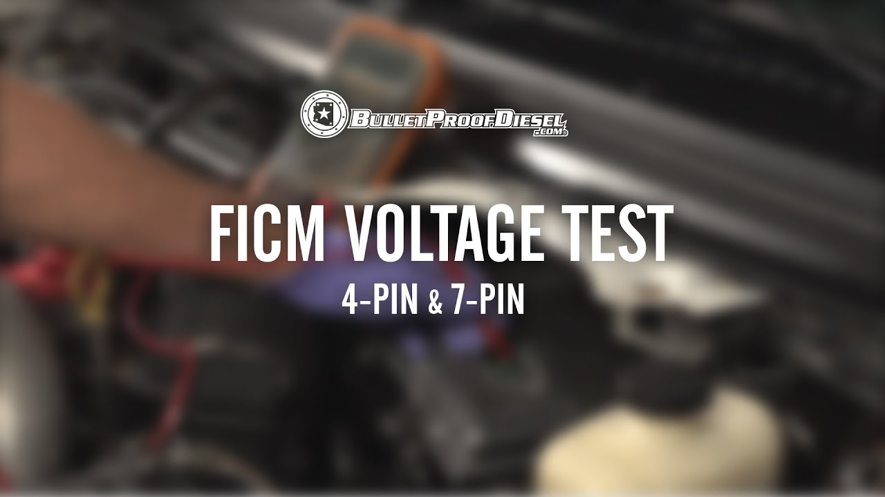 60l Power Stroke Ficm Voltage Test 4 Pin And 7 Youtube 2003 Ford F250 Fuse Box Diagram