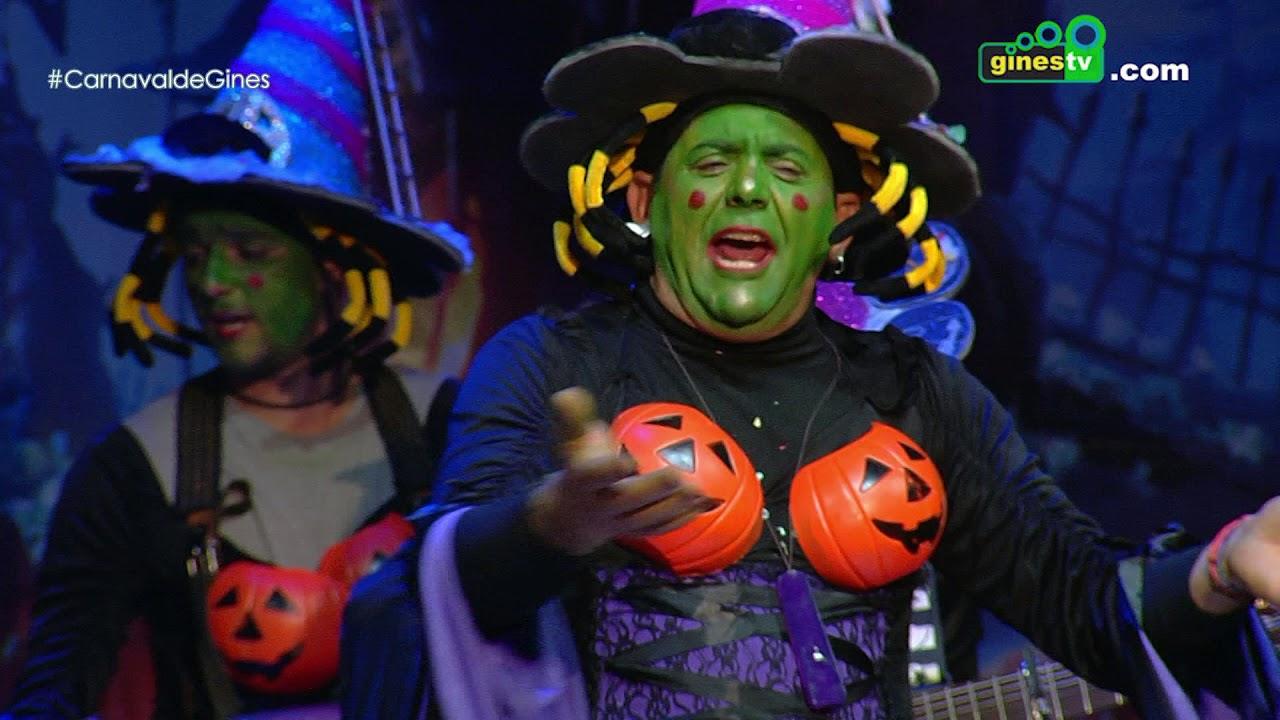Una chirigota mala mala de verdad. Carnaval de Gines 2018 (Tercera semifinal)