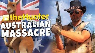 The Hunter - Australian Massacre - Kangaroo Hunting