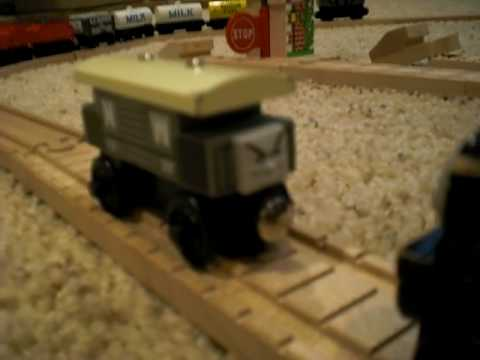 Breakvan Thomas Friends Wooden Railway Remake