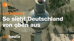 Deutschland im Lockdown - Großstädte aus der Luft