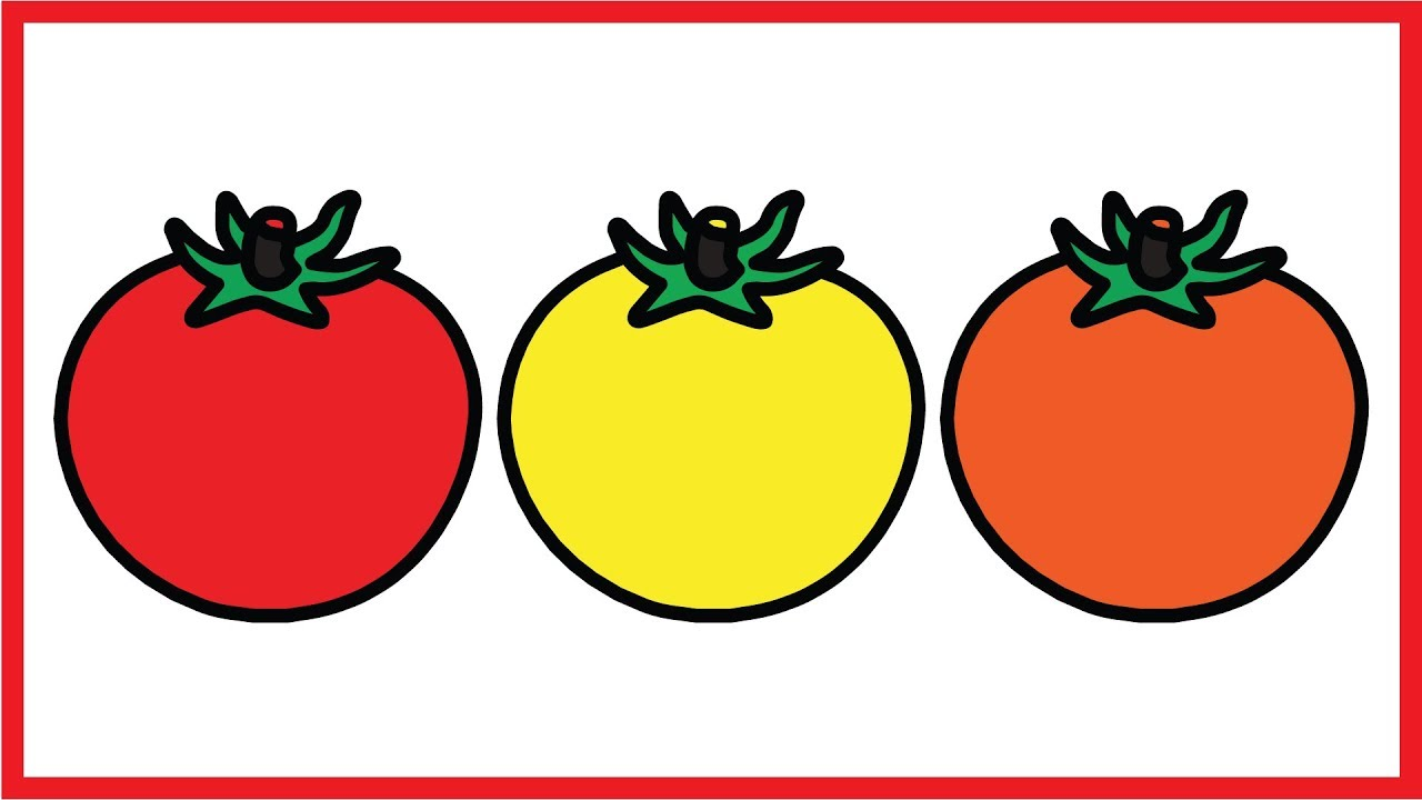 Colorful Coloring Pages Of Fruits And Vegetables For Kids ...