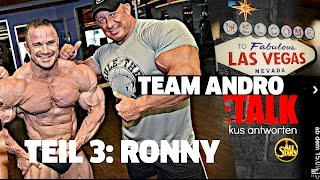 Markus mit Team-Andro in Las Vegas treffen auf Ronny Rockel