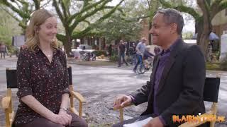 Judy Greer on working with Jamie Lee Curtis for HALLOWEEN