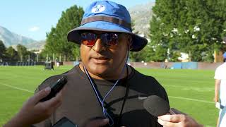 BYU Football - Fall Camp - August 15, 2019 - Kalani Sitake Media