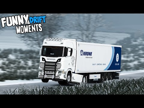 Euro Truck Simulator 2 Multiplayer Funny Moments & Crash Compilation #109 (ETS2MP)