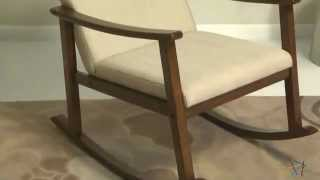 Holden Modern Rocking Chair - Product Review Video