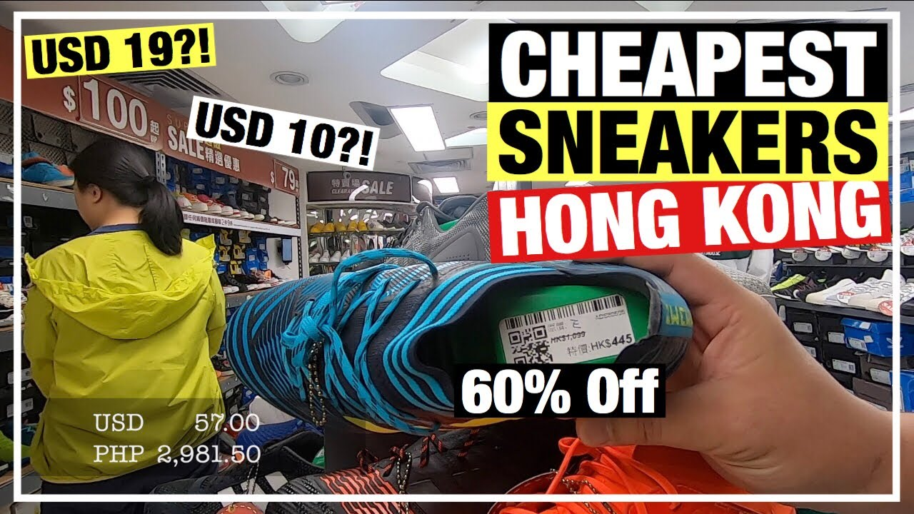 CHEAPEST SNEAKER STORES IN HONG KONG