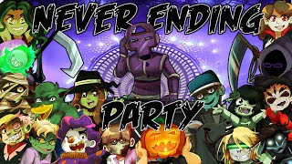 Never Ending Party (Halloween YouTube Singers Collab)