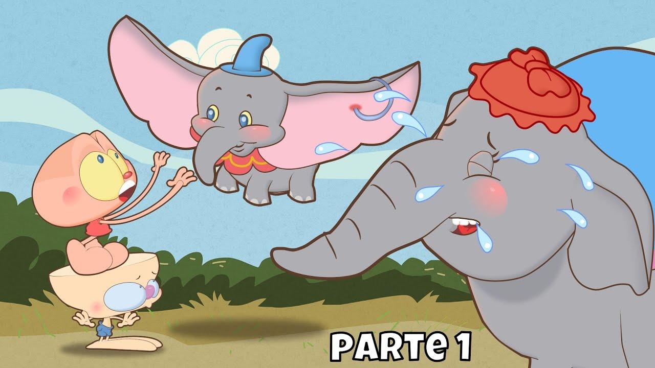Mongo E Drongo Salvam Dumbo Parte 1 Nao O Filme Infantil Disney