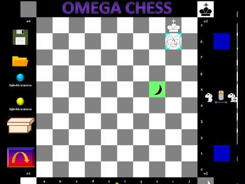 Omega Chess Learning Lessons Шахматы Омега Game Alex Sherzer vs. Judit Polgar