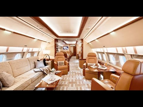 Inside World's Expensive private jet