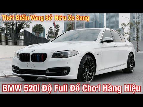 BMW 520i 2015 - Lên Rất Nhiều Đồ Chơi Đắt Tiền - Giá Quá Hợp Lý Để Sở Hữu Xe Sang I Đỗ Chung Ô Tô