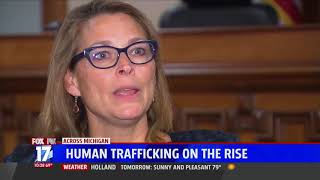 Sen. Emmons discusses human trafficking on WXMI
