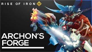 Destiny: Rise of Iron Archon's Forge Gameplay! Splicer Key, New Armor, How to Enter