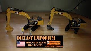 Norscot Cat 336E H vs. Diecast Masters Cat 336E H Excavators