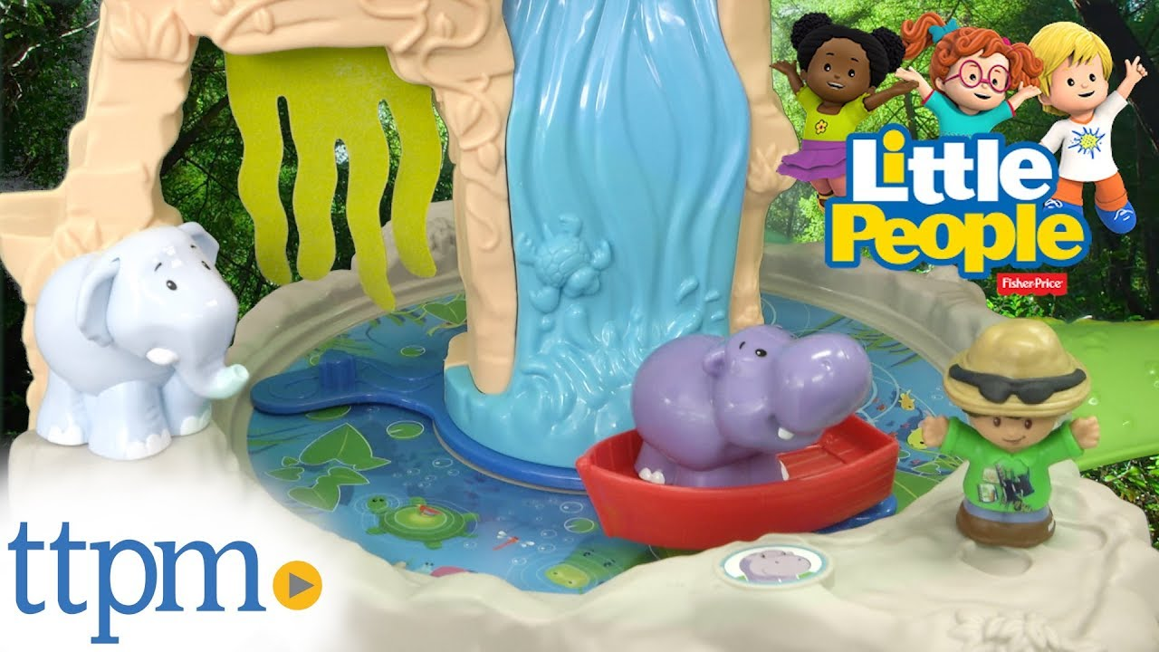 Little People Share Care Safari From Fisher Price Youtube