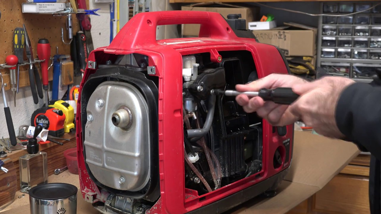 Fixing Honda EU2000i Generator Rough and Surging Idle