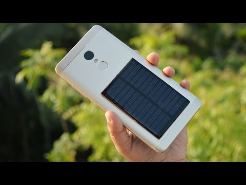 How To Make A Free Energy Emergency Mobile Phone Charger - Solar Generator