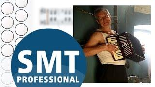 Как играть на гармони Человек и кошка   How to play on accordion   SMT Pro