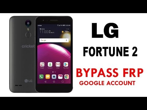 LG fortune 2 FRP/Google account bypass | LG fortune2 X210CM 100% Working