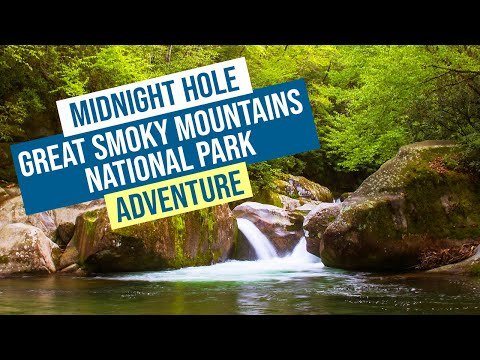 Midnight Hole Great Smoky Mountains National Park Adventure