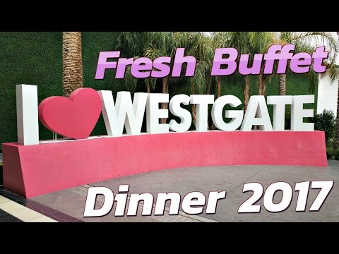 Las Vegas: Westgate Dinner Buffet Tour