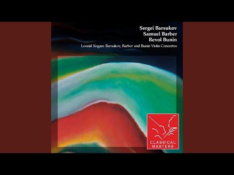 Concerto For Violin and Orchestra No. 2: III Allegro con spirito