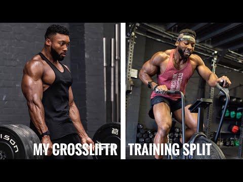 My Full Training Split as a CROSSLIFTR (Bodybuilding /Crossfit/Strength&Conditioning)