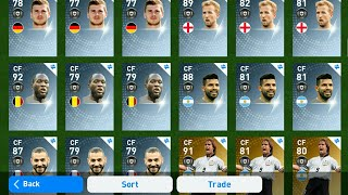 PES2019 MOBILE 😱😱 TRADE NEW PLAYERS S123