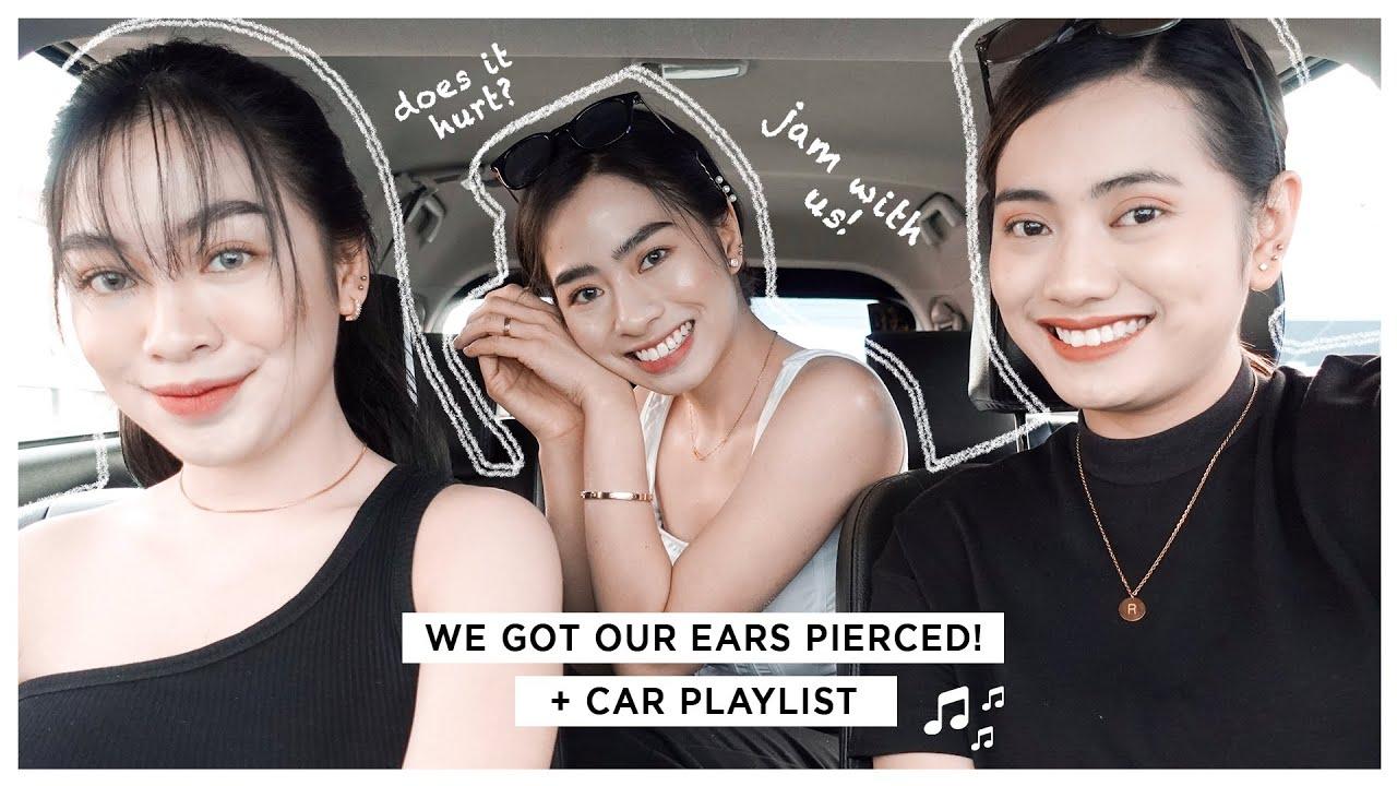 Getting Our Ears Pierced at Piercings by Ravana   Manaig Sisters