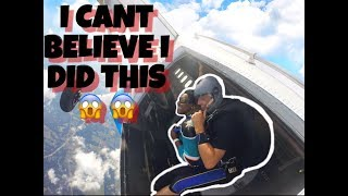 12,000 FEET IN THE AIR ! I CANT BELIEVE I DID THIS - 26th BIRTHDAY CELEBRATION 😈