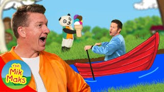 Row Row Row Your Boat | Nursery Rhymes and Kids Songs | The Mik Maks Lullaby