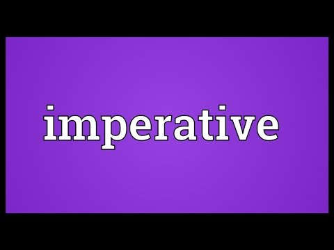 Imperative Meaning