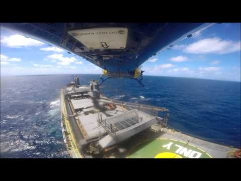 RACQ CQ Rescue winches critically ill man from bulk carrier 200km offshore
