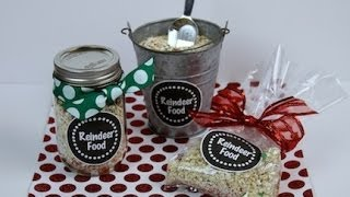 Diy: Reindeer Food | Showmecute
