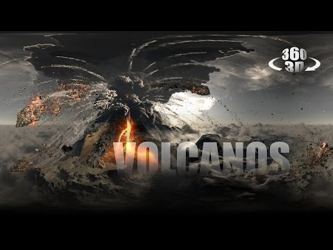 Volcanos - An Immersive Experience (Extended Version) - 360°/3D